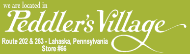 located in Peddler's Village Lahaska Pennsylvania